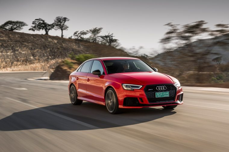Saudi Arabian Women are looking for performance cars like the Audi RS 3