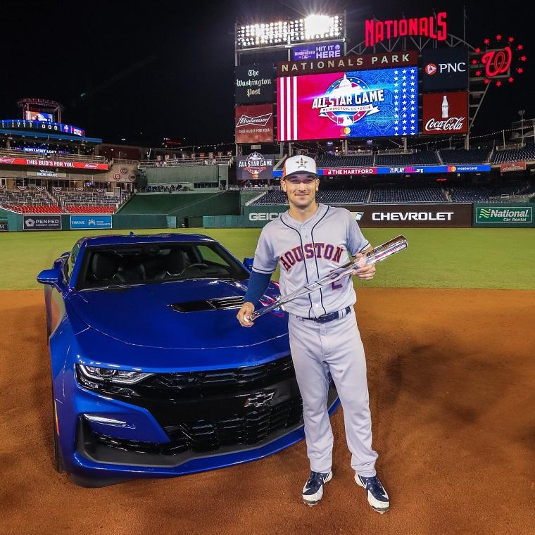 All Star Chevy >> MLB All-Star Game MVP Alex Bregman Wins New Chevy Camaro SS Coupe - The News Wheel