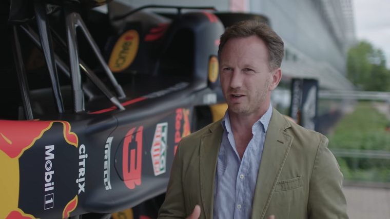 Christian Horner interviewed