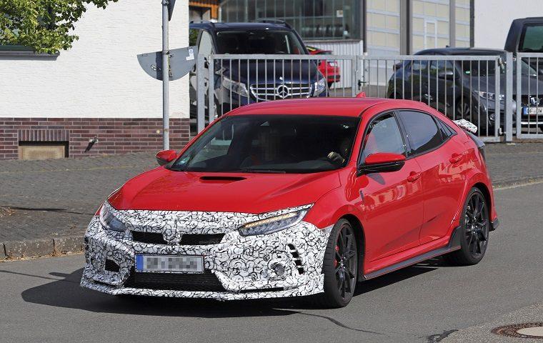 Honda Civic Type R spy shot