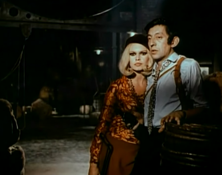 Serge Gainsbourg and Brigitte Bardot Bonnie and Clyde