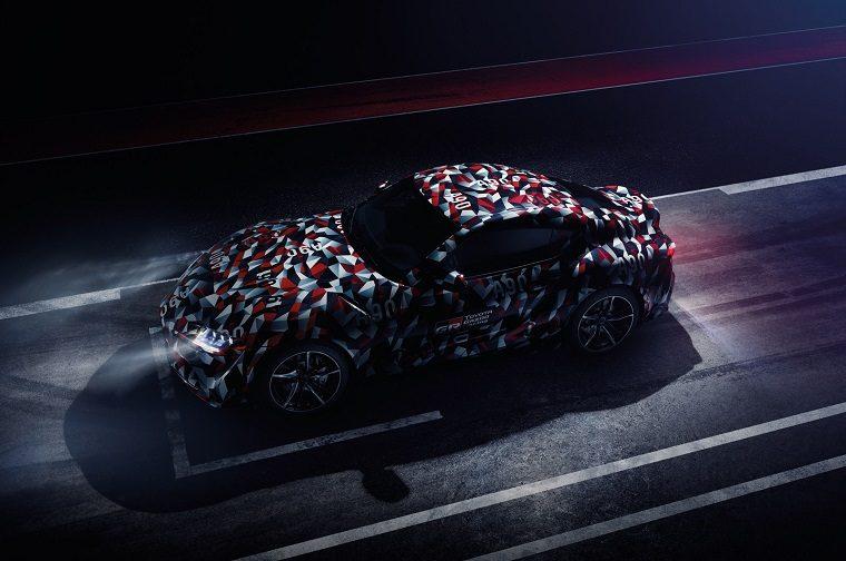 Toyota Supra teaser