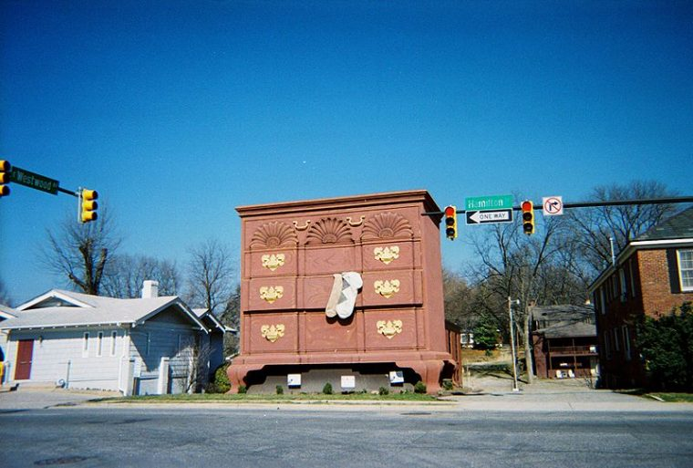 World's Largest Chest of Drawers in High Point NC
