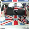 1975 MINI Cooper clubman estate custom interior Union Jack British flag