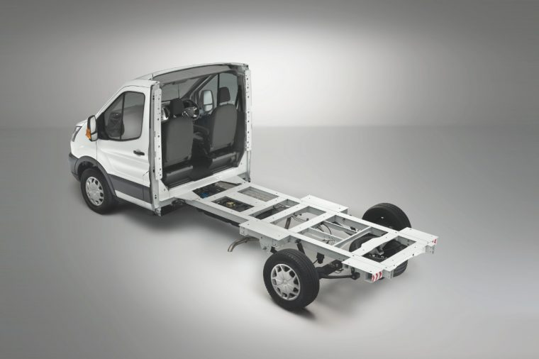 2018 Ford Transit Skeletal Chassis Cab