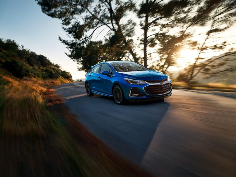 2019 Chevrolet Cruze Hatchback Premier Action Shot