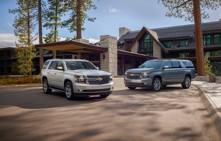 2019 Chevrolet Tahoe and Suburban Premier Plus