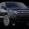 2019 Ford Ranger Lariat SuperCrew Shadow Black