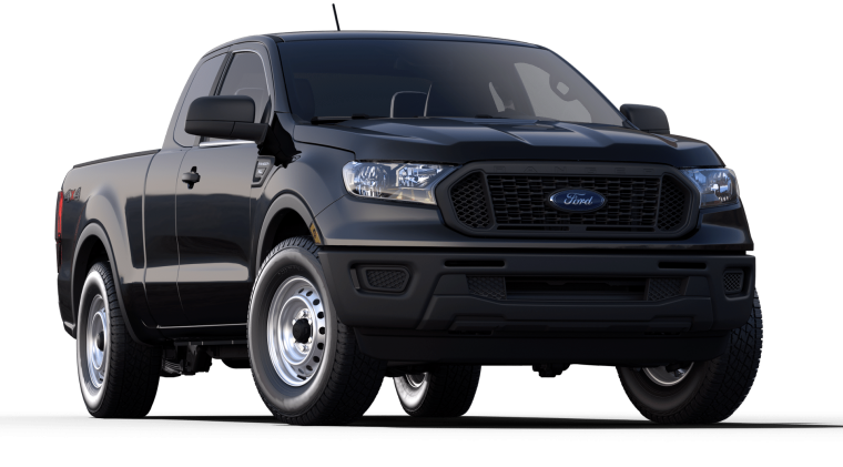 2019 Ford Ranger XL SuperCab Shadow Black