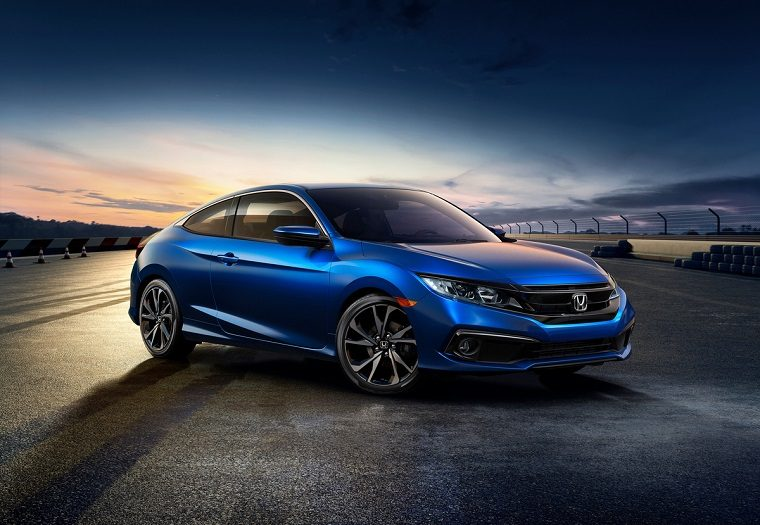 The new 2019 Honda Civic Coupe Sport
