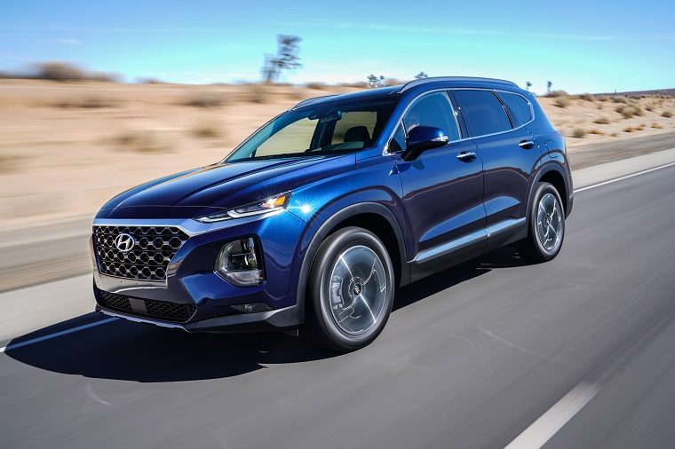 2019 Hyundai Santa Fe user experience and features