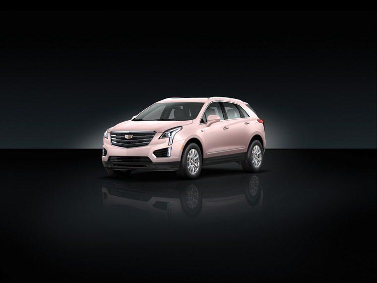 Pink 2018 Cadillac XT5