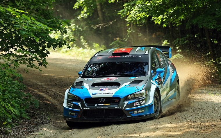 David Higgins at 2018 Ojibwe Forests Rally