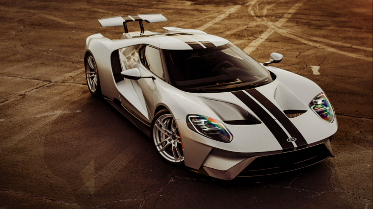 Ford Ford Auction >> No 48 2017 Ford Gt Heads To Mecum Auction Block Again
