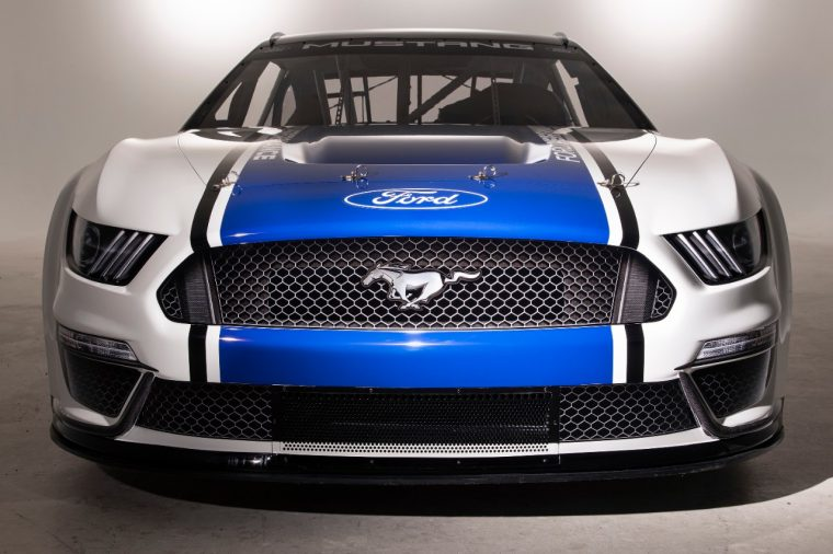 Ford Mustang NASCAR Cup race car