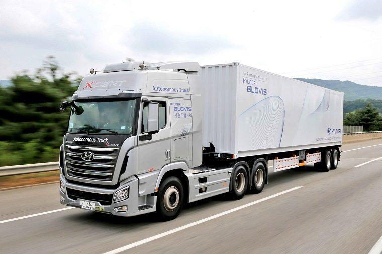 Hyundai Autonomous Truck Journey