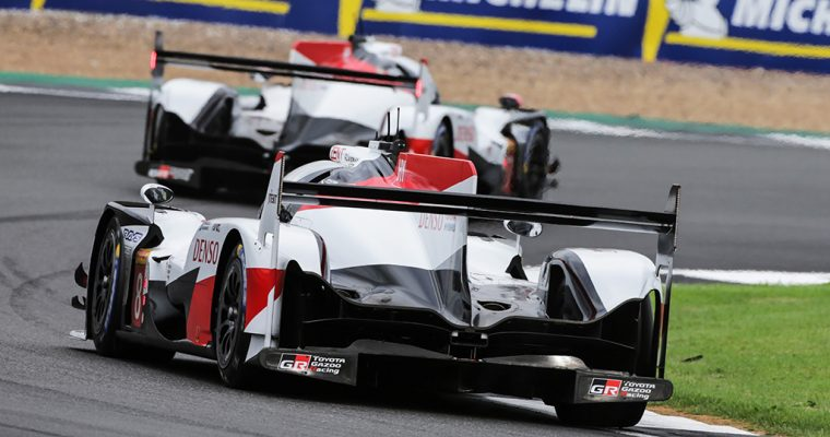 Toyota Gazoo Racing at the 6 Hours of Silverstone