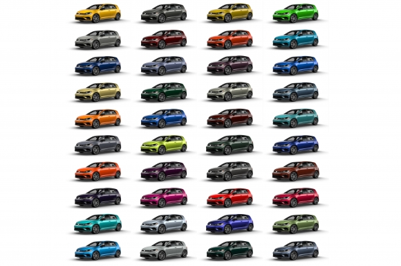 2019 Golf R to Feature 40 Custom Color Options - The News Wheel
