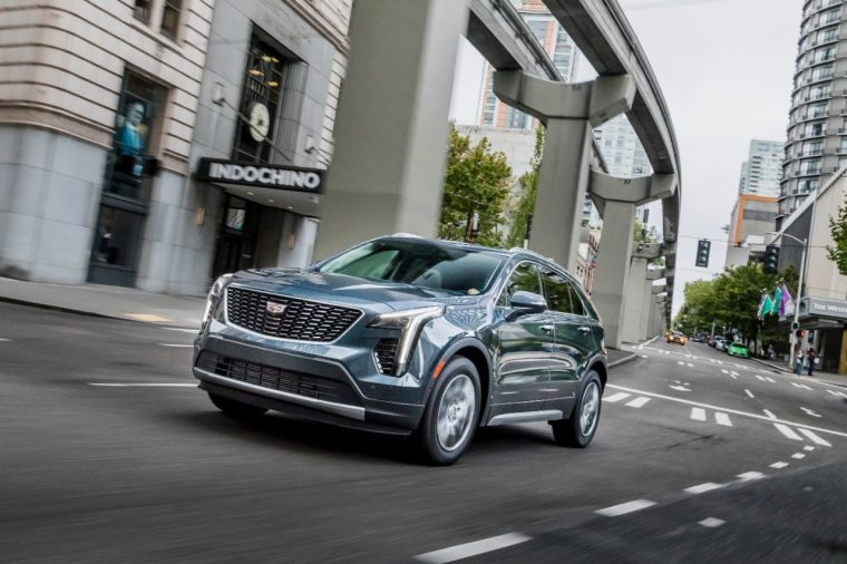 2019 Cadillac Xt4 Overview The News Wheel