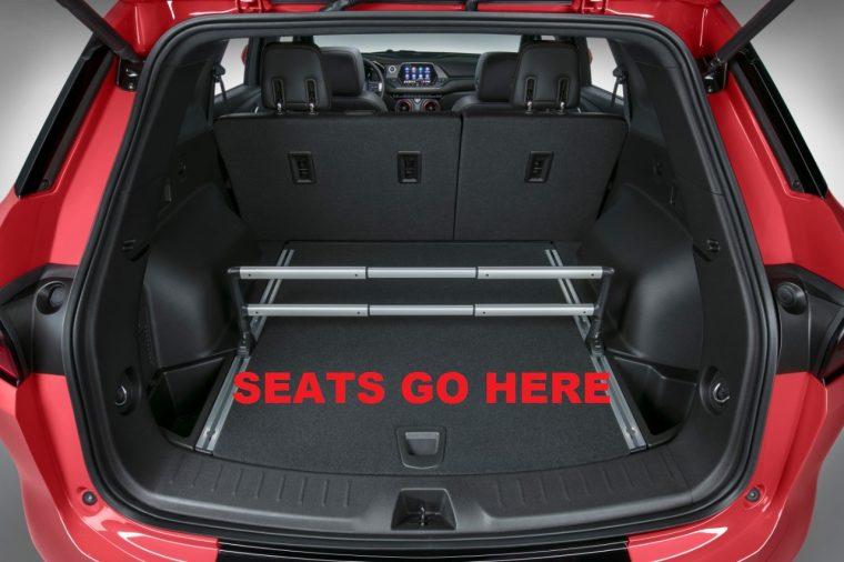 The 2019 Chevrolet Blazer third row?