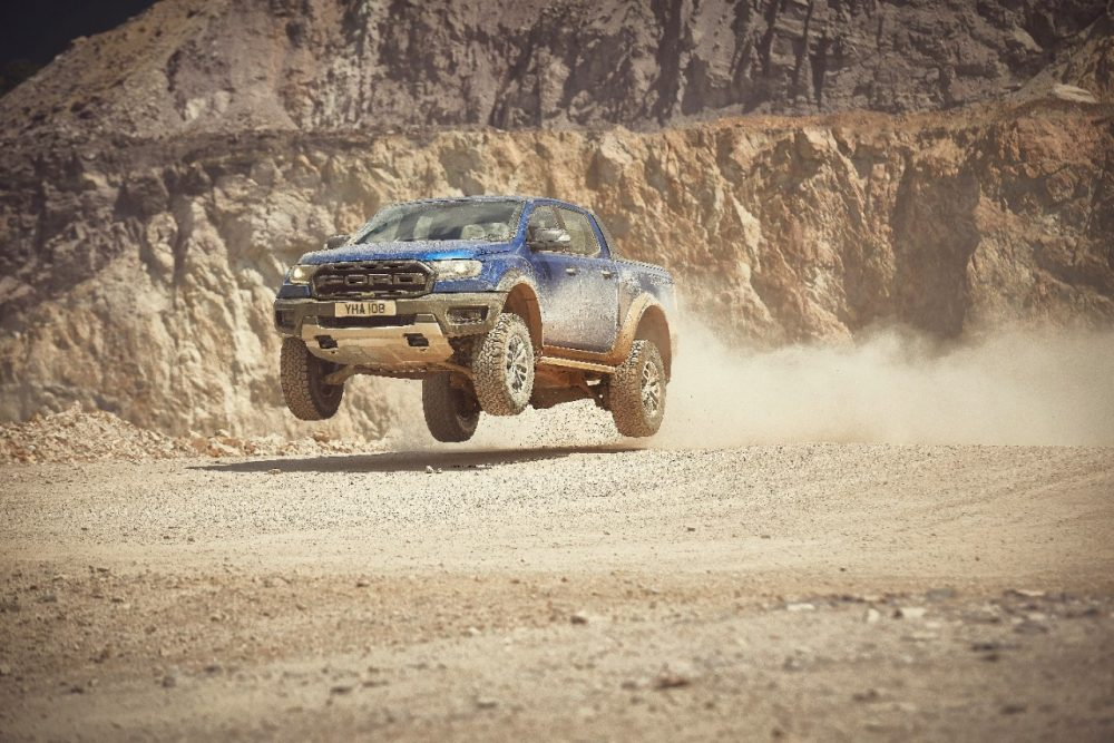 2019 Ford Ranger Raptor | 2021 Ford Ranger Raptor in development