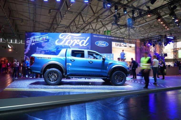 2019 Ford Ranger Raptor Gamescom reveal