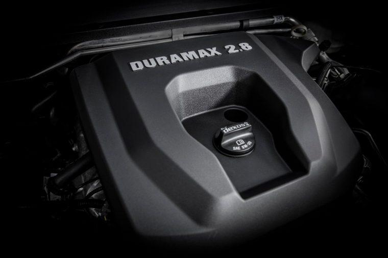 Chevrolet Colorado 2.8-liter Duramax diesel