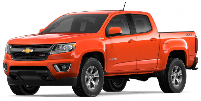 Crush 2019 Chevrolet Colorado