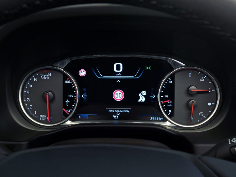 Holden Acadia Technology