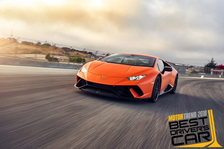 Lamborghini Huracán Performante Motor Trend Best Driver's Car 2018 Winner