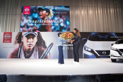 Grand Slam champion Naomi Osaka joins Nissan as brand ambassador