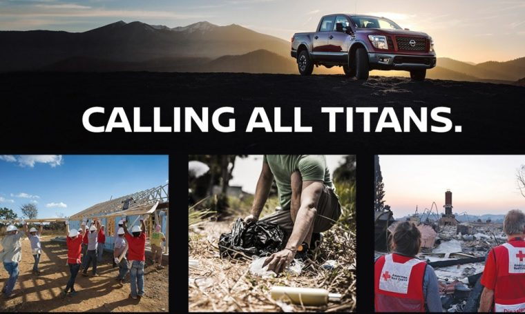 Nissan Calling All Titans Campaign
