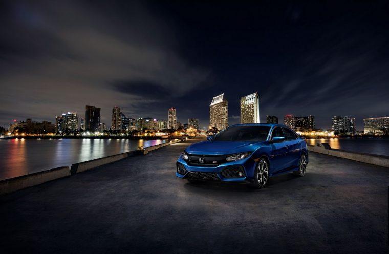 2018 Honda Civic Si blue