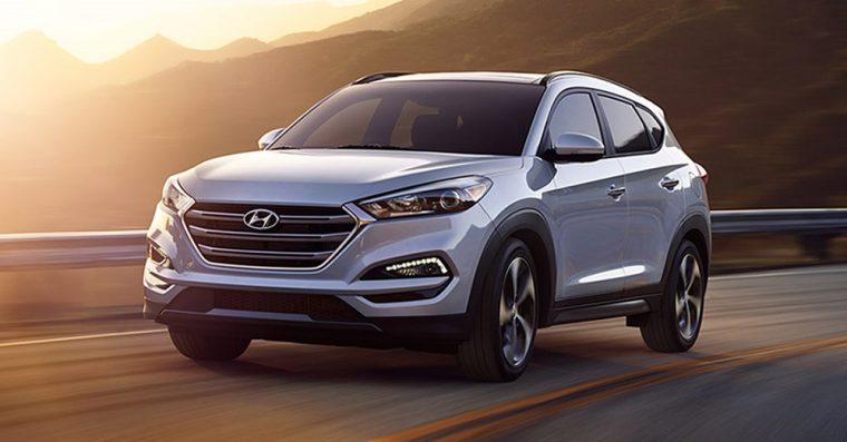 2018 Hyundai Tucson silver