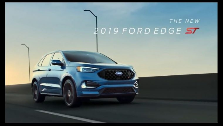 2019 Ford Edge ST Commercials