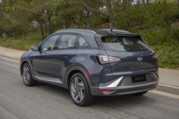 Hyundai hydrogen fuel-cell vehicles