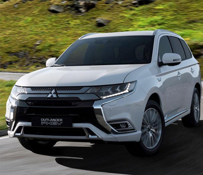 Uk S Rank Mitsubishi Outlander Phev In Top Spot For Plug Hybrid Models