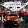 Canton Mississippi production begins of 2019 Nissan Altima