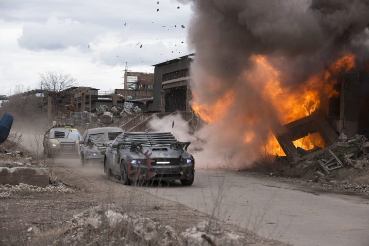 cars of Death Race Beyond Anarchy driver profiles about vehicles stunts