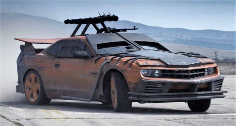 Death Race Beyond Anarchy movie cars drivers Connor Gibson Chevrolet Camaro