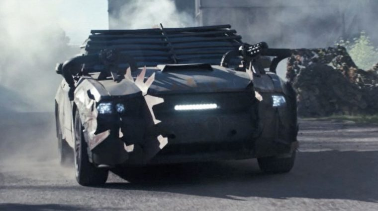 Death Race Beyond Anarchy movie cars drivers Frankenstein Ford Mustang