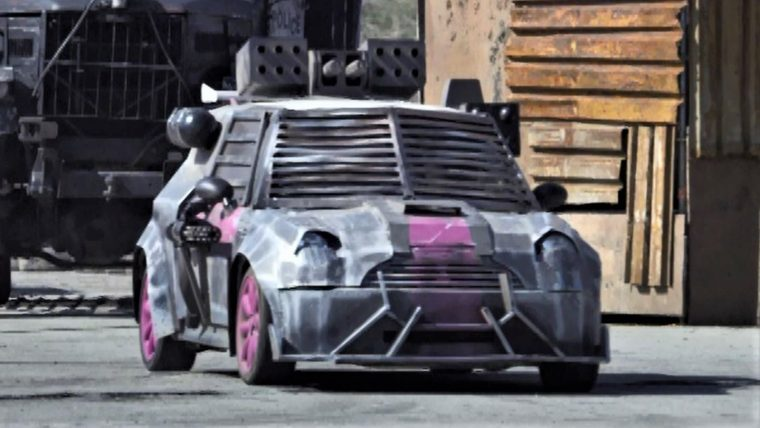 Death Race Beyond Anarchy movie cars drivers Gipsy Rose Mini cooper