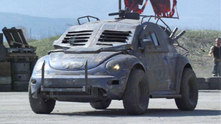 Death Race Beyond Anarchy movie cars drivers VW Beetle Pierced Face