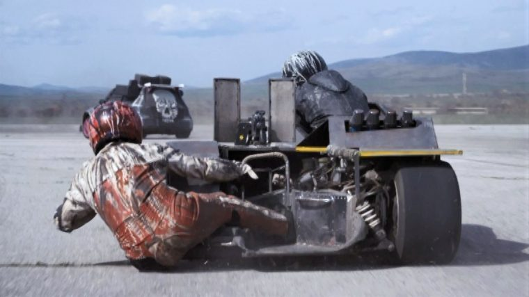 Death Race Beyond Anarchy movie cars drivers War Cycle