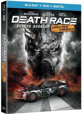 Death Race Beyond Anarchy review 2018 movie box DVD cover