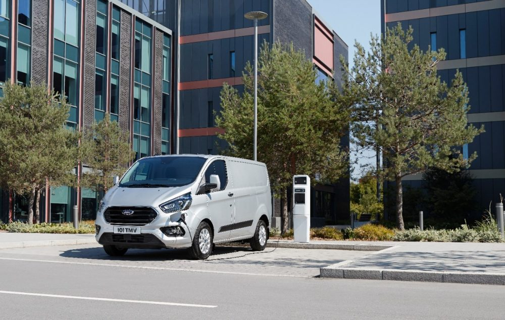 Ford Transit Custom PHEV | Ford Britain sales January 2020