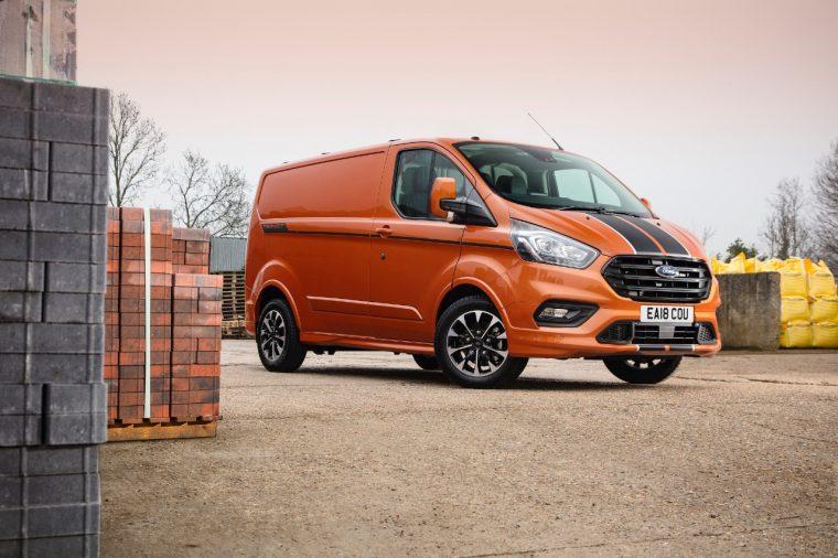Ford Transit Custom   Ford UK Sales September 2018