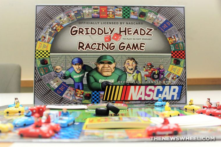 Griddly Headz Racing review board game NASCAR family motorsports tabletop News Wheel