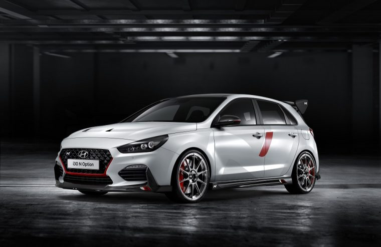 Hyundai i30 N N Option Performance Show Car Paris Motor Show 2018