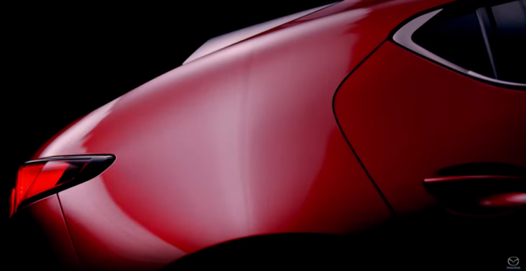 Mazda teaser video still 1